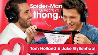 Video Tom Holland on wearing a thong for Spider-Man 🙊 | Interview | Heart MP3, 3GP, MP4, WEBM, AVI, FLV Juli 2019