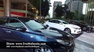 Evo Malaysia com | 2017 Kia Optima GT Turbo Full Walk Around Review Video