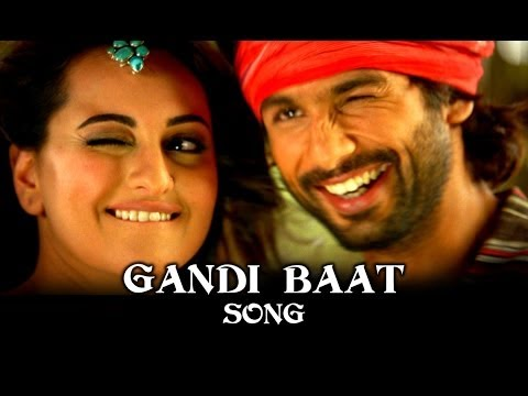R - To watch more log on to http://www.erosnow.com Watch 'Gandi Baat' Full Song - http://erosnow.com/#!/music/watch/1005266/r...-rajkumar/6121225/gandi-baat?ap=1...