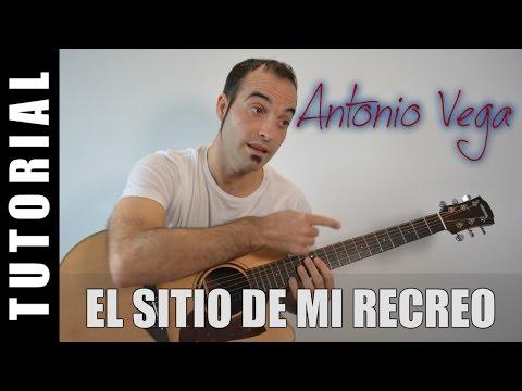 Como tocar El sitio de mi recreo – Antonio Vega (Guitarra FACIL tutorial acordes)