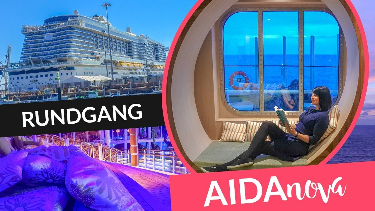 AIDAnova Schiffsrundgang