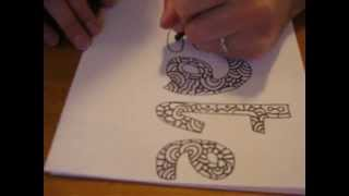 Daily Doodles 1/11/09 Create Drawing Timelapse Art