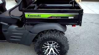 10. 2014 Kawasaki Mule 610 XC in Green @ Alcoa Good Times