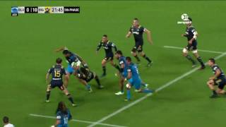 Blues v Highlanders Rd.3 Super Rugby Video Highlights 2017