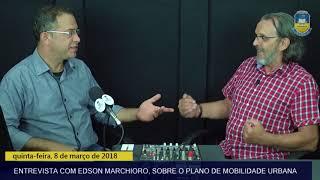 Informativo Dourados – Entrevista com Edson Marchioro, sobre o Plano de Mobilidade Urbana