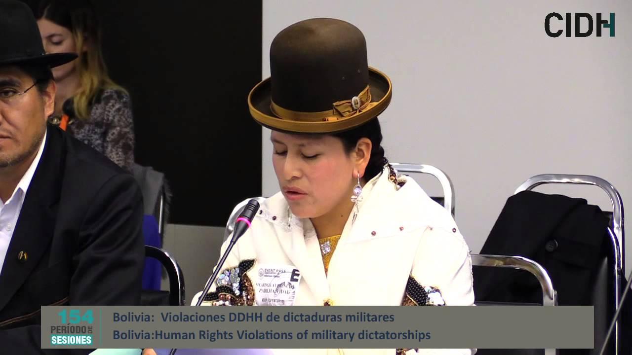 Derecho a la verdad, justicia y reparaciones por las violaciones de derechos humanos de las dictaduras militares en Bolivia