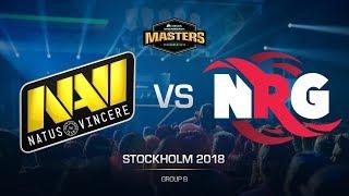 Na`Vi vs. NRG - DH MASTERS Stockholm - map3 - de_train [GodMint, SSW]