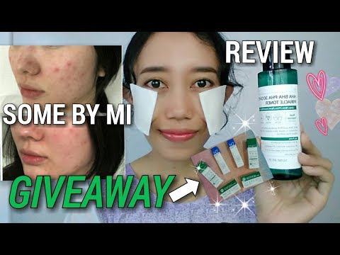 GIVEAWAY!! SOME BY MI AHA BHA PHA 30 DAYS MIRACLE TONER REVIEW [INDONESIA] Novie Marru
