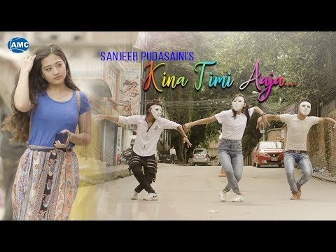 (21st LOVE DANCE SONG - Kina Timi Aaja by Sanjeeb Pudasaini | Official Video | New Nepali Pop Song - Duration: 3 minutes, 36 seconds.)
