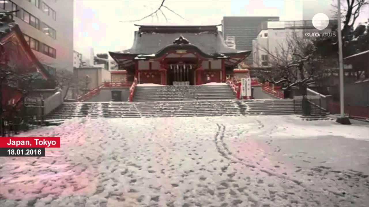 Ιαπωνία: Τα πρώτα χιόνια της χρονίας