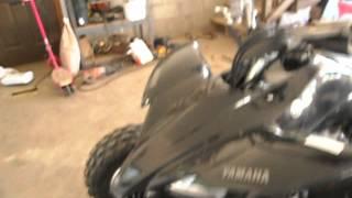 4. 2012 Yamaha YFZ450 Walkaround + Startup