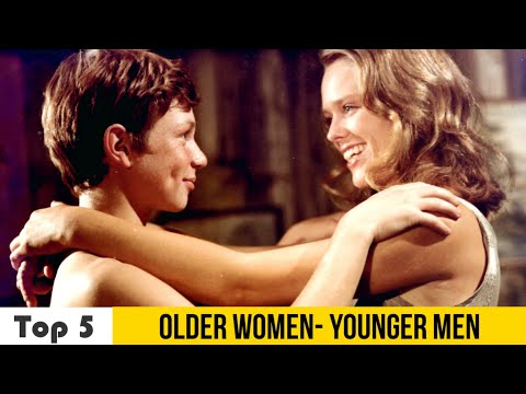 TOP 5: Older Woman - Younger Man Classic Romance Movies(1961-1999) part 2