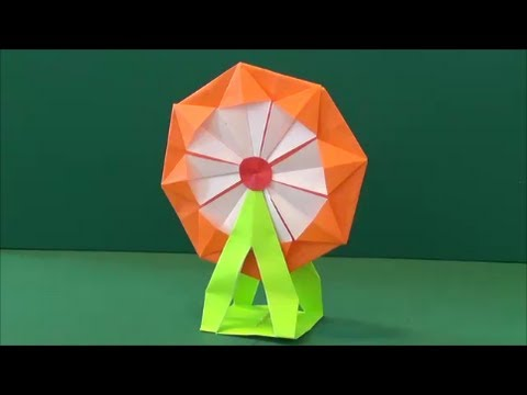 Toy Tutorial - 017 -- Ferris Wheel