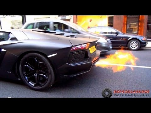 loudest - FLAMES, REVS and INSANE SOUNDS from London's Loudest Lamborghini (at the moment). This car is famous for its Capristo Exhaust system and ability to shoot fla...