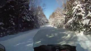7. Randy blow by 2017 Ski-doo 850 e-tec blowing by Blizzard 1200
