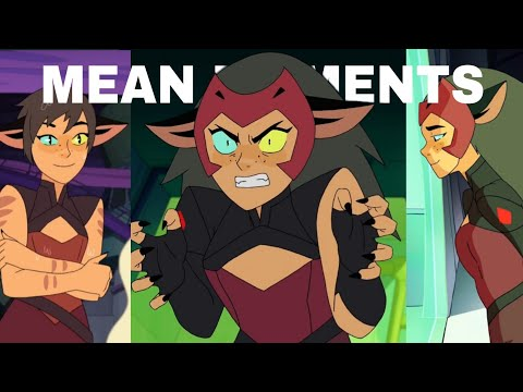 Catra Mean Moments (She-Ra Crack s1-s5)