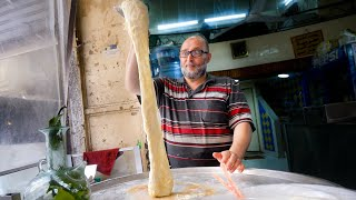 Video Street Food Lebanon - MELTED CHEESE WATERFALL + Ultimate Food Tour in Tripoli! MP3, 3GP, MP4, WEBM, AVI, FLV Agustus 2019