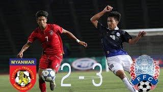 Video CAMBODIA vs MYANMAR 3-2 - All Goals & Hightlights - AFC U 19 Championship 2018 26/10/2017 MP3, 3GP, MP4, WEBM, AVI, FLV November 2018