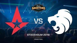 Astralis vs North - DH MASTERS Stockholm - Grand final - map2 - de_train [sl4m, Strike]