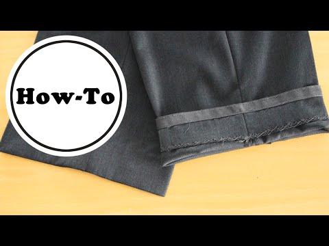 Anzugshose kürzen | How-To | Anleitung