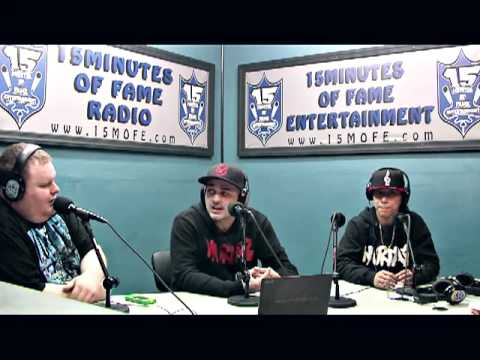 Cortez, Misfit, Murda Ave Gang Interview on 15 Minutes Of Fame Radio #Heavybag Show