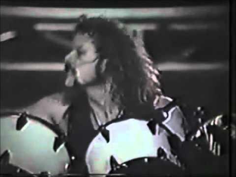 Metallica Lars Singing - Am I Evil? (RARE)