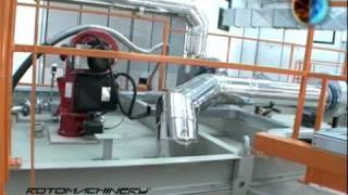 Macchina Stampaggio Rotazionale PRM 3200 Polivinil