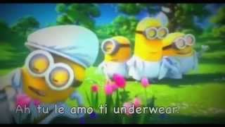 Download Lagu Minions - I Swear ( FULL VERSION ) with lyrics AKA KARAOKE Mp3