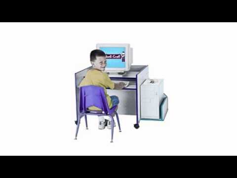 Video Video ad for the Kydz Computer Desk Trim Color Black
