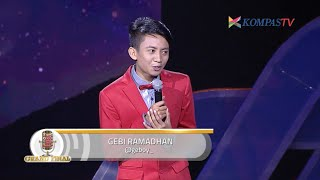 Video Gebi: Beratnya Audisi (Grand Final SUCI 6) MP3, 3GP, MP4, WEBM, AVI, FLV Mei 2019
