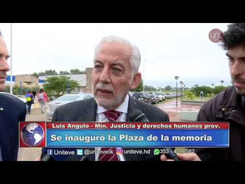 Se inauguró la Plaza de la memoria en la UNVM.