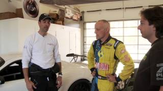 DeMan Motorsport Cayman Cup Car with Mike Spinelli & Nick Longhi