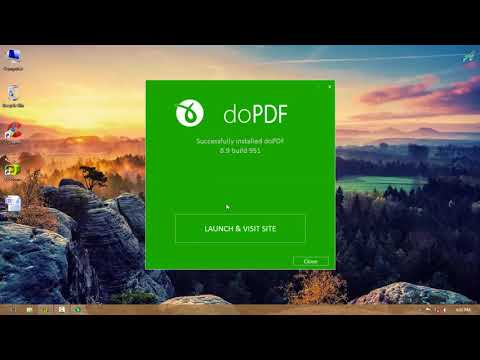 Create PDF files with doPDF, by Word file
