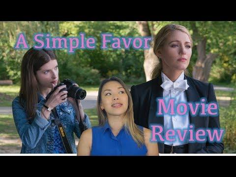 A Simple Favor    Movie Review (non-spoiler)