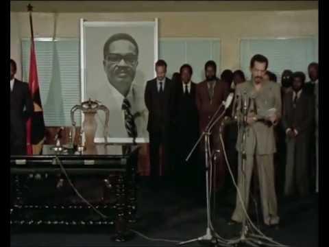 Tomada de posse do presidente José Eduardo dos Santos