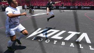 مباراة بطور Volta للعبة كرة القدم FIFA 20