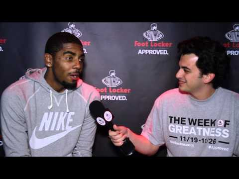 0 Foot Locker #WeekOfGreatness Featuring Kyrie Irving