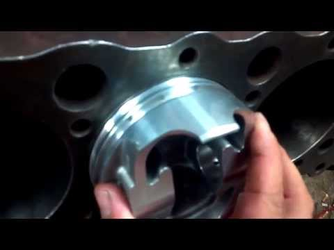 How to file fit piston rings