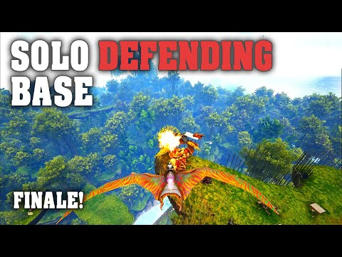 Solo Defending Base Multiple Times! Final Episode | Ark Pvp MTS Beginners s3E7
