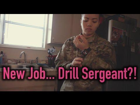 New Job? Drill Sergeant?!