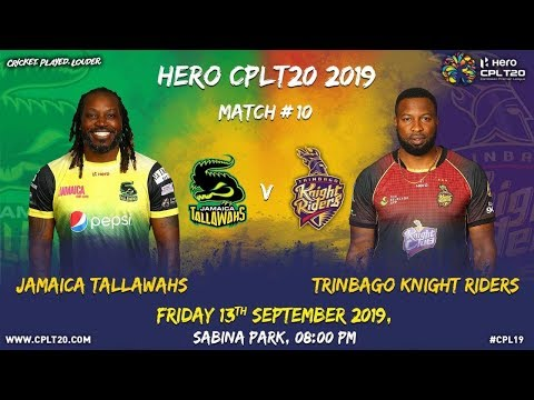 MATCH 10 Highlights |#JTvTKR | #CPL19