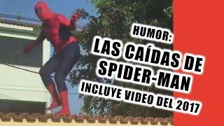 Video Las caídas de Spiderman / fails / Incluye video del 2017 download in MP3, 3GP, MP4, WEBM, AVI, FLV January 2017