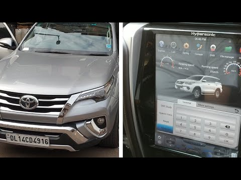Download Toyota Fortuner Accessories Tesla Music System Video 3gp