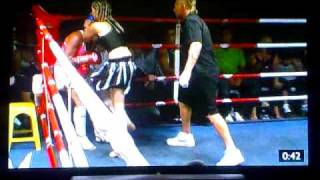 Wolf Pack Stables Kimi Law 2nd Fight Round 1