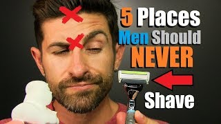 Video 5 Places A Man Should NEVER Shave On His Body! MP3, 3GP, MP4, WEBM, AVI, FLV November 2018
