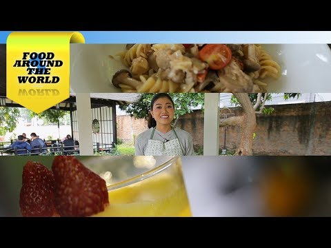 FOOD AROUND THE WORLD – Italy (with Arleen Ariestyani)