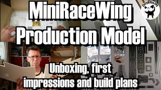 The production version of the MiniRaceWing has finally arrived.  Congrats to Markus and Jonathan for making it happen :)As I mention in the video, the wing kit itself was supplied as a review item, but the spend on everything else is my own.You can get your very own MiniRaceWing from the dedicated site here http://flybot.de/en/miniracewing-kit-fpv-race-wing... and the power package (which consists of the motor/props) here http://flybot.de/en/miniracewing-power-kitThey were out of stock of the power packs at the time, so I picked up a motor and props from https://www.electricwingman.com/For the other things I'm using (some affiliate links used) I've gone for -RunCam Swift 2 - https://www.banggood.com/RunCam-Swift-2-13-CCD-PAL-Micro-Camera-FOV-130150165-Degree-2_5mm2_3mm2_1mm-Integrated-OSD-MIC-p-1118948.html?p=E81211714085201408XQHobbywing Skywalker 60A ESC - https://www.banggood.com/Hobbywing-Skywalker-2-6S-60A-UBEC-Brushless-ESC-With-5V5A-BEC-For-RC-Airplane-p-1039598.html?p=E81211714085201408XQTowerpro MG90S Metal gear servos - https://www.banggood.com/Towerpro-MG90S-13_4g-Metal-Gear-Mini-Digital-Servo-p-1103274.html?p=E81211714085201408XQFrSky X4RSB receiver - https://www.banggood.com/FrSky-X4RSB-316-Channel-Telemetry-Receiver-p-955643.html?p=E81211714085201408XQVTX, I still don't know, maybe the AOMway 200mw as it's small and will run the camera on 5v - https://www.banggood.com/AOMWAY-FPV-5_8Ghz-200mW-32CH-Wireless-AV-Transmitter-Module-p-947147.html?p=E81211714085201408XQI'll return with the build/maiden video, but will bealso be publishing a more detailed build on my blog http://www.currykitten.co.uk