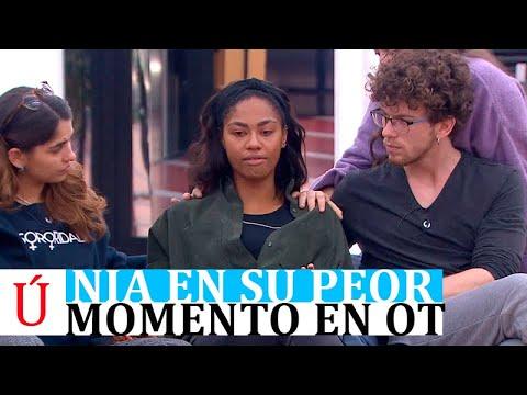 Nia confiesa su mayor temor en OT 2020 antes de la Gala 5: afectada por la marcha de Javy o Anajú