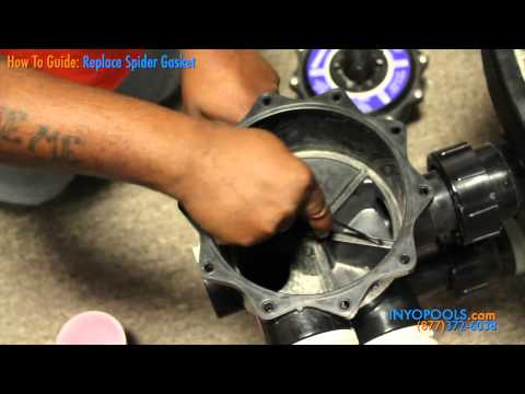 How to: Replace a Spider Gasket on a Multiport Valve