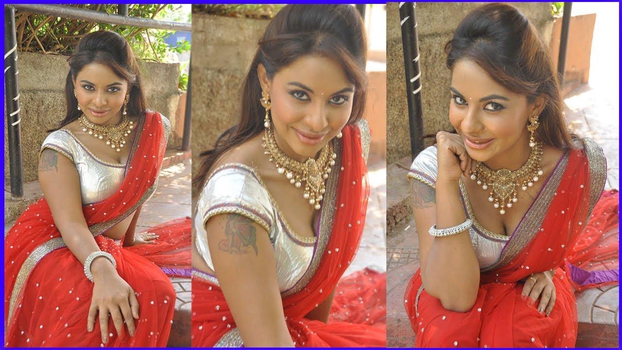 Big BOOBS CLEAVAGE Sri Reddy Red Dress Hot Hd Photos | శ్రీ రెడ్డి హాట్ ఫొటోస్